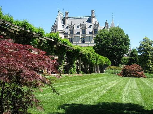 South lawn at the Biltmore Estate, North Carolina, U.S.