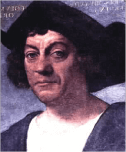 What does Christopher Columbus have to do with the Pledge of Allegiance?