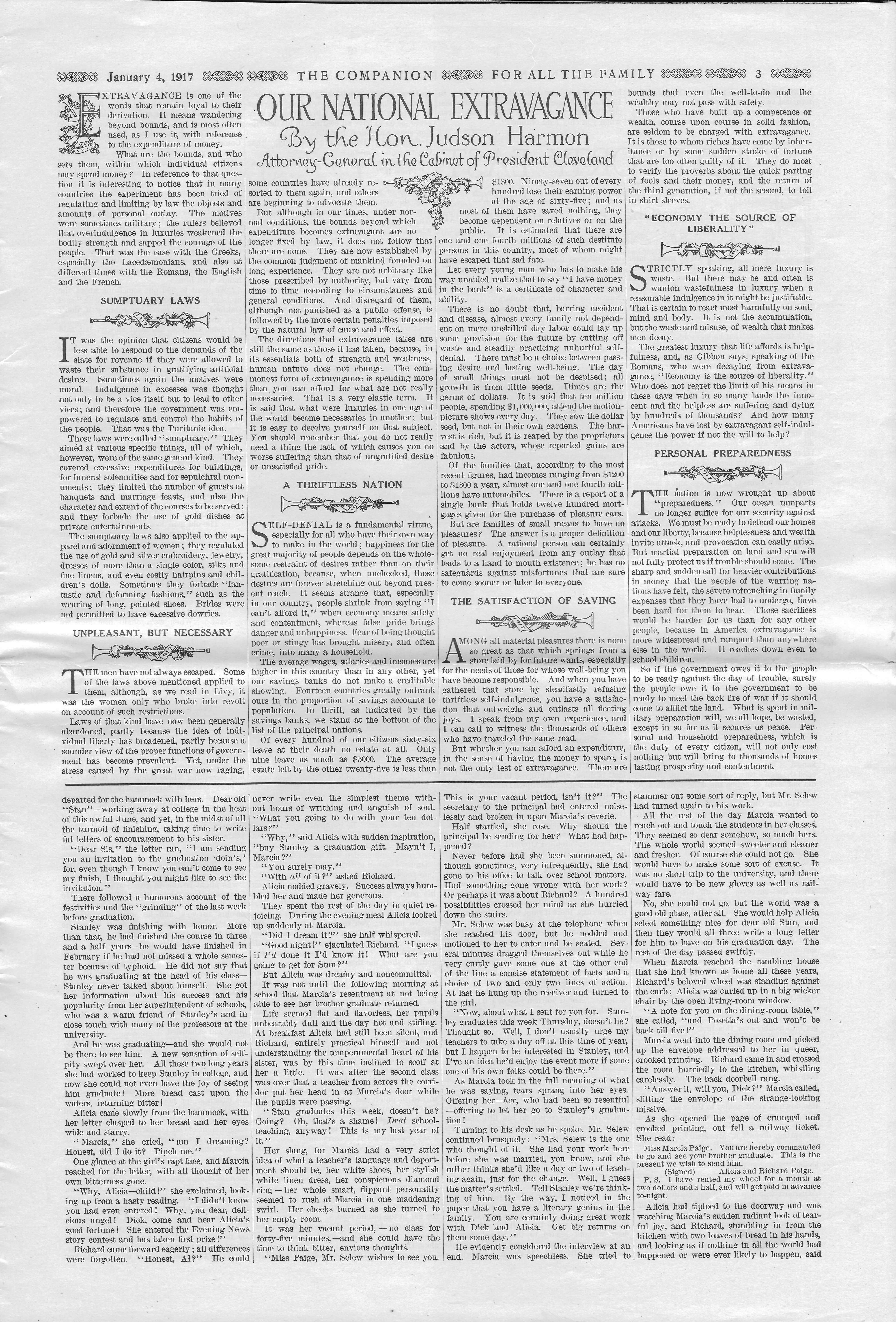 The Youth's Companion - January 04, 1917 - Page 3