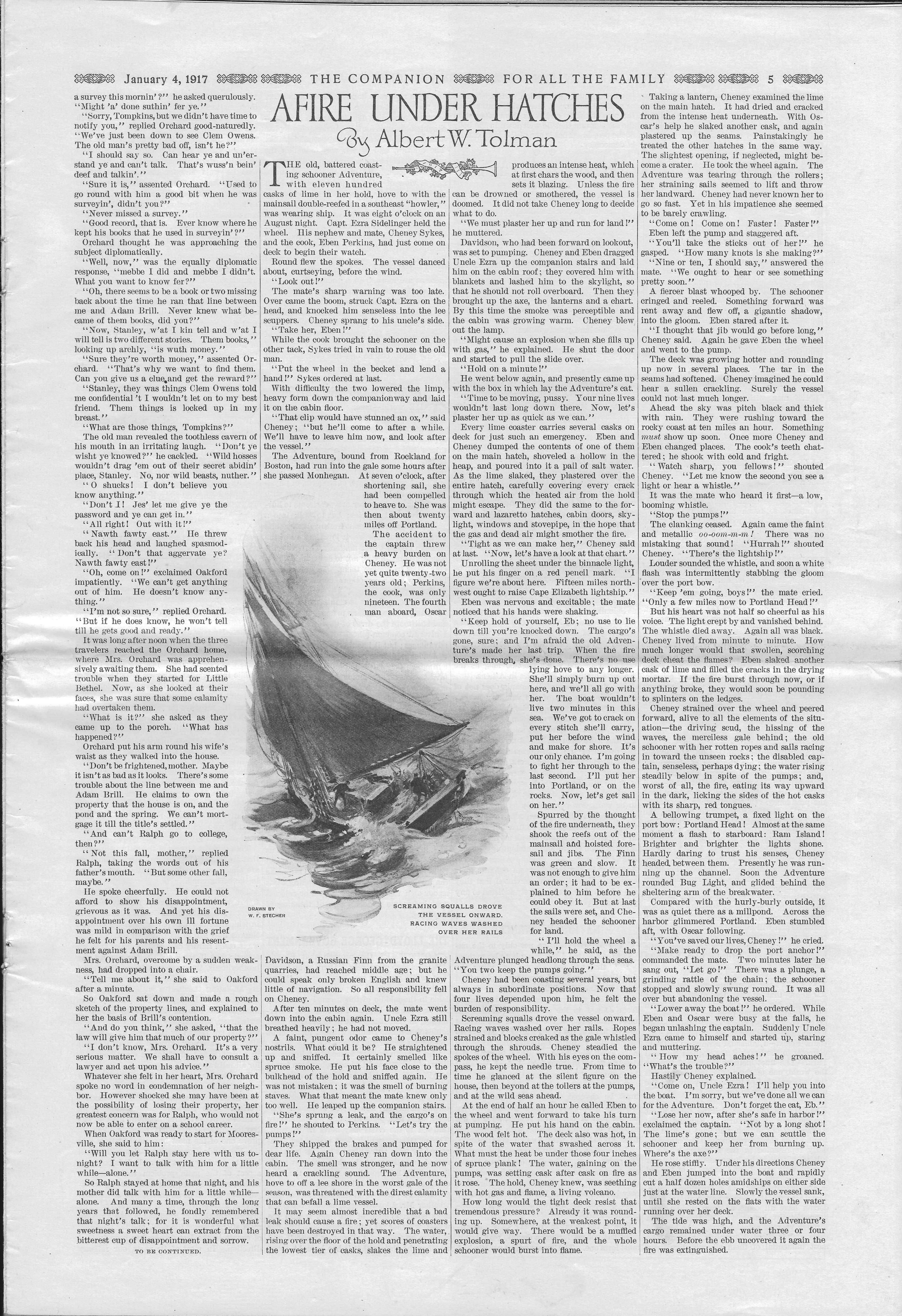 The Youth's Companion - January 04, 1917 - Page 5