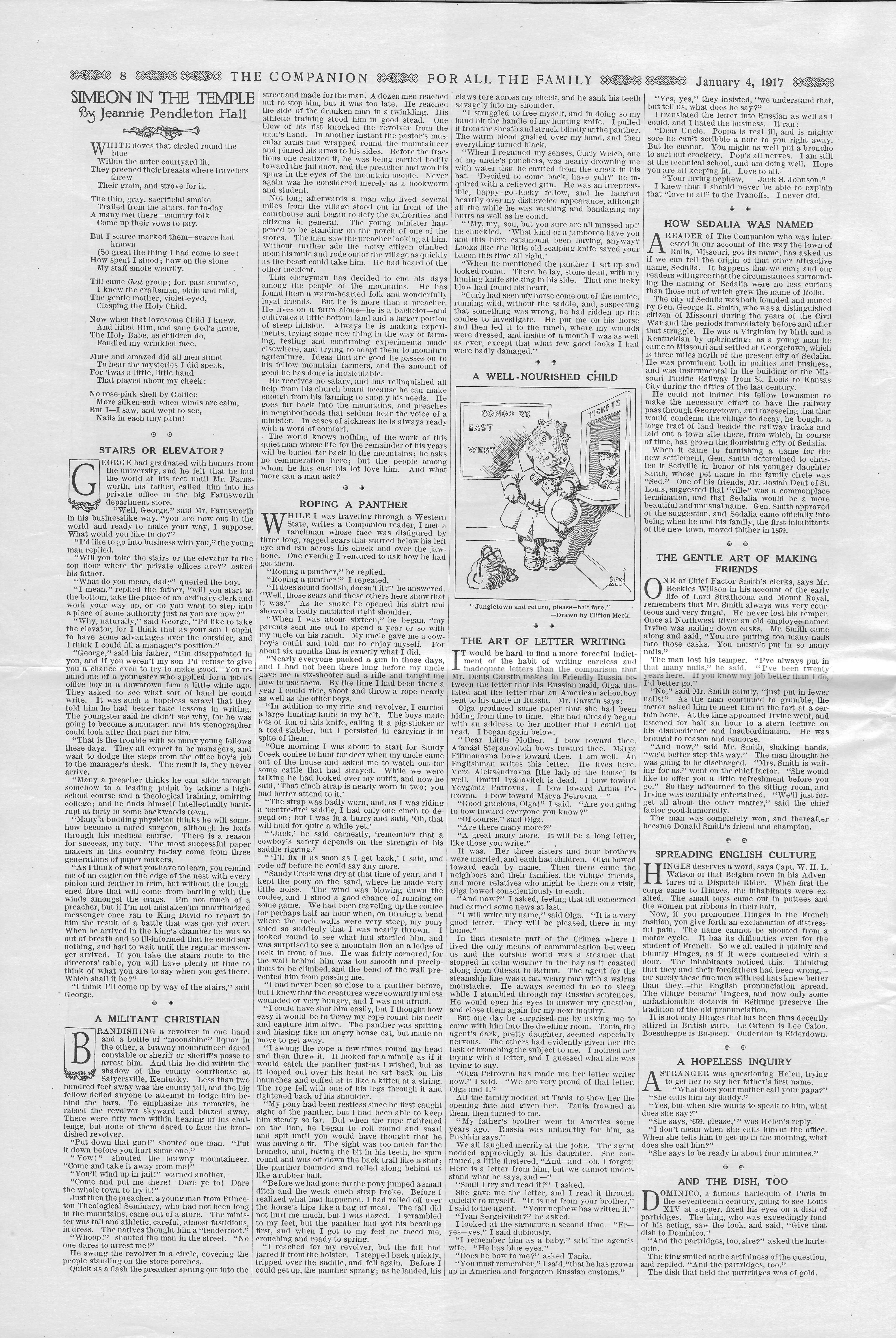 The Youth's Companion - January 04, 1917 - Page 8