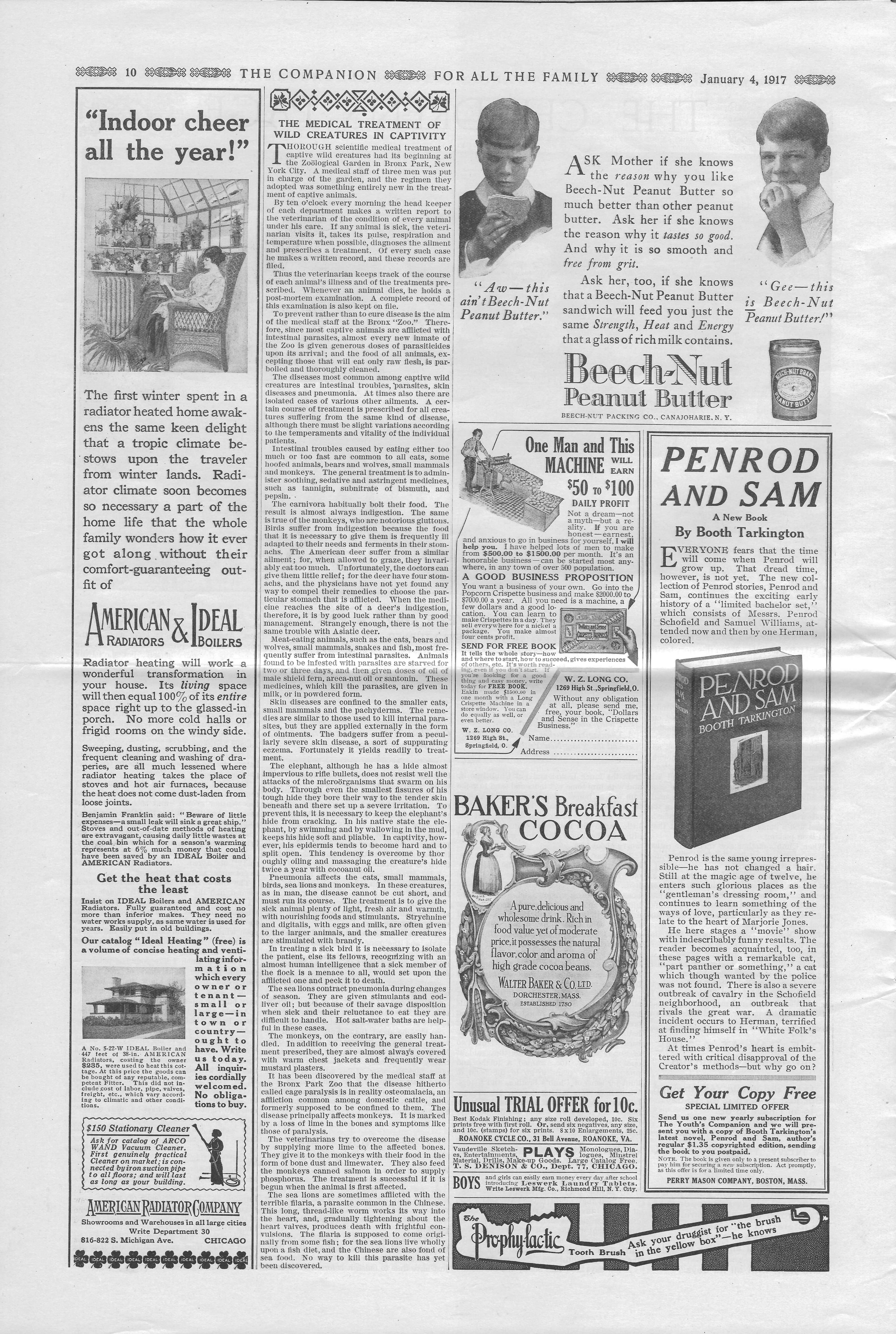 The Youth's Companion - January 04, 1917 - Page 10