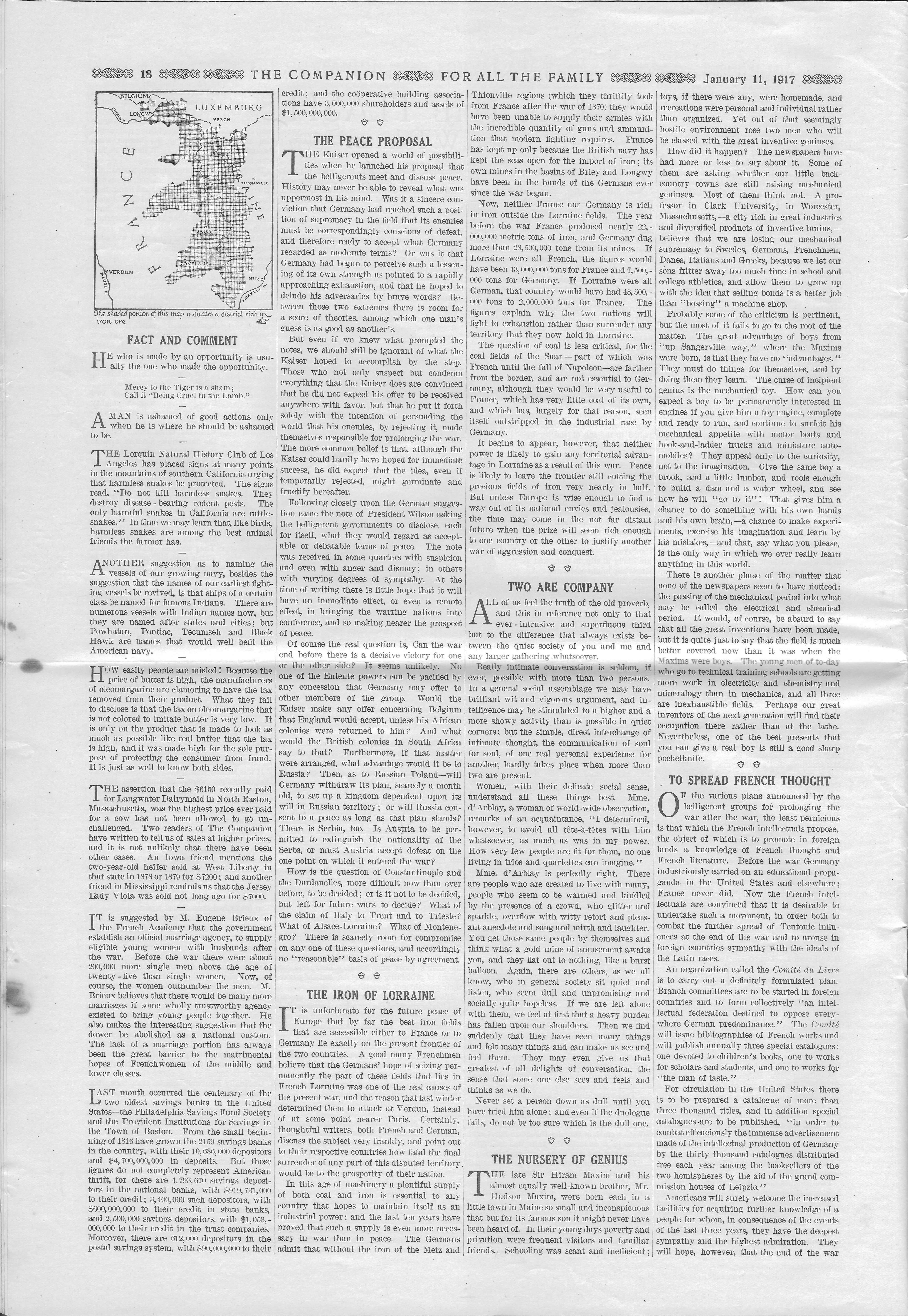 The Youth's Companion - January 11, 1917 - Page 18