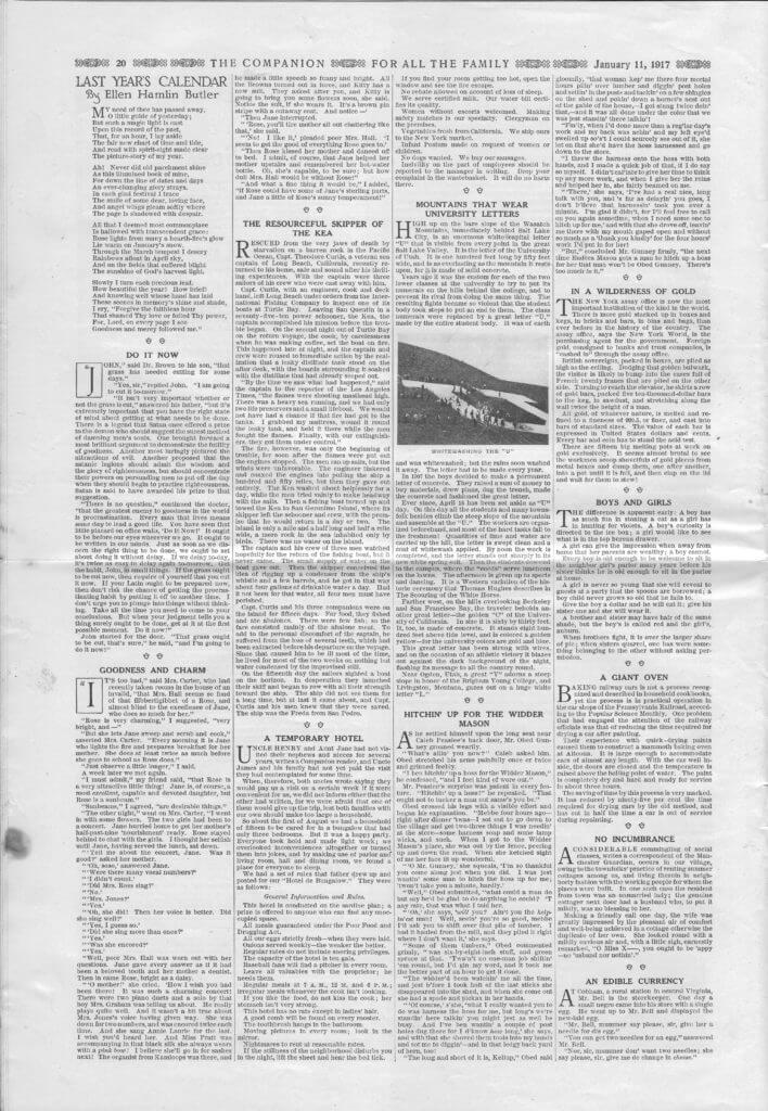 The Youth's Companion - January 11, 1917 - Page 20