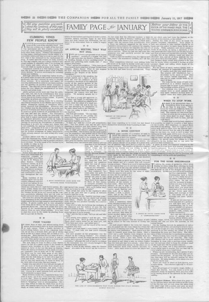 The Youth's Companion - January 11, 1917 - Page 22