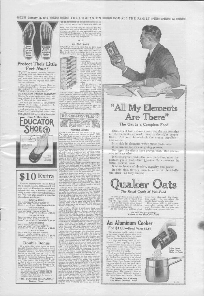 The Youth's Companion - January 11, 1917 - Page 23