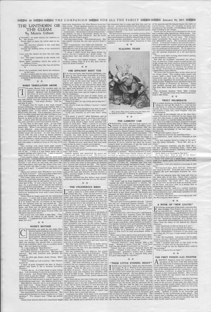 The Youth's Companion - January 18, 1917 - Page 36