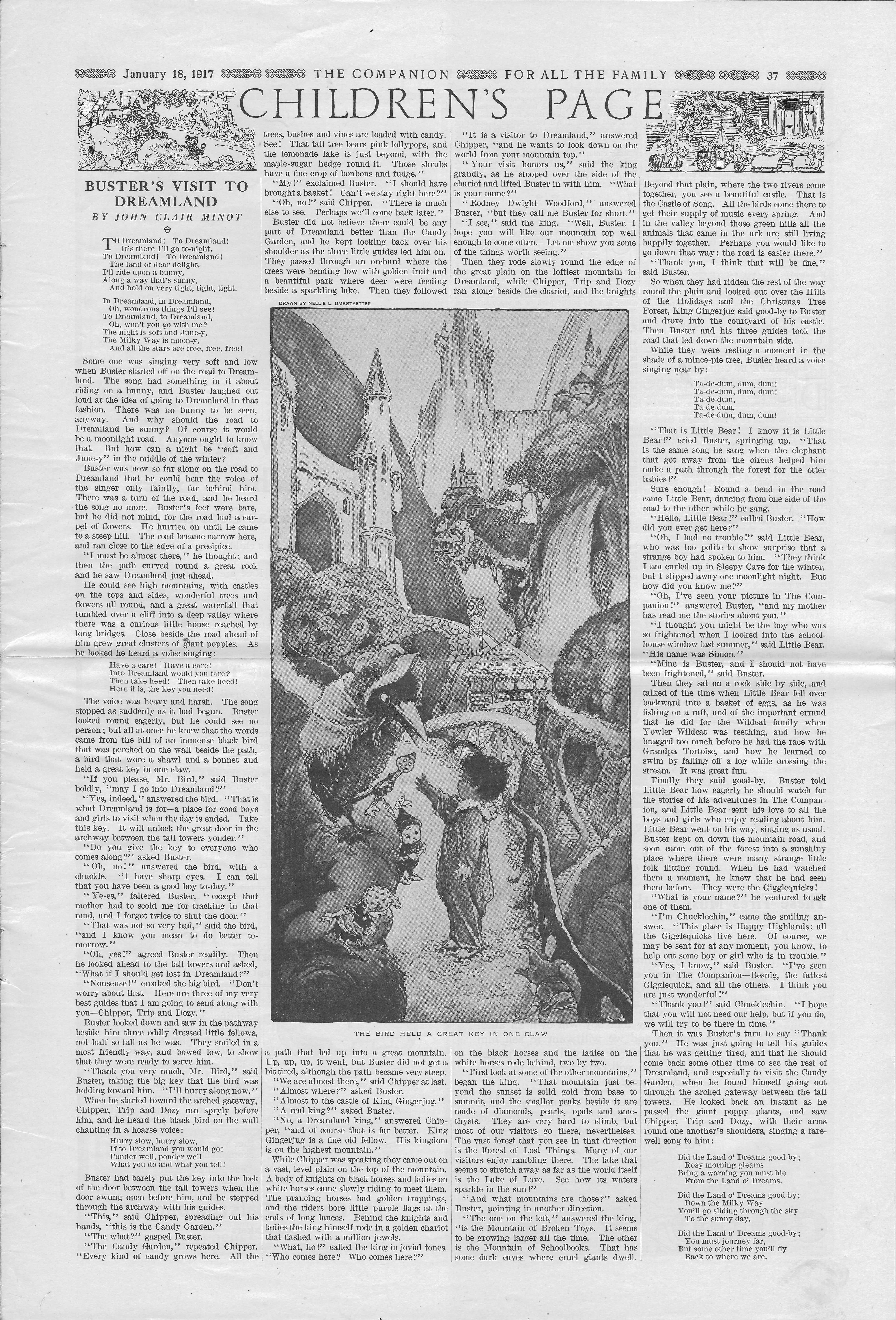 The Youth's Companion - January 18, 1917 - Page 37