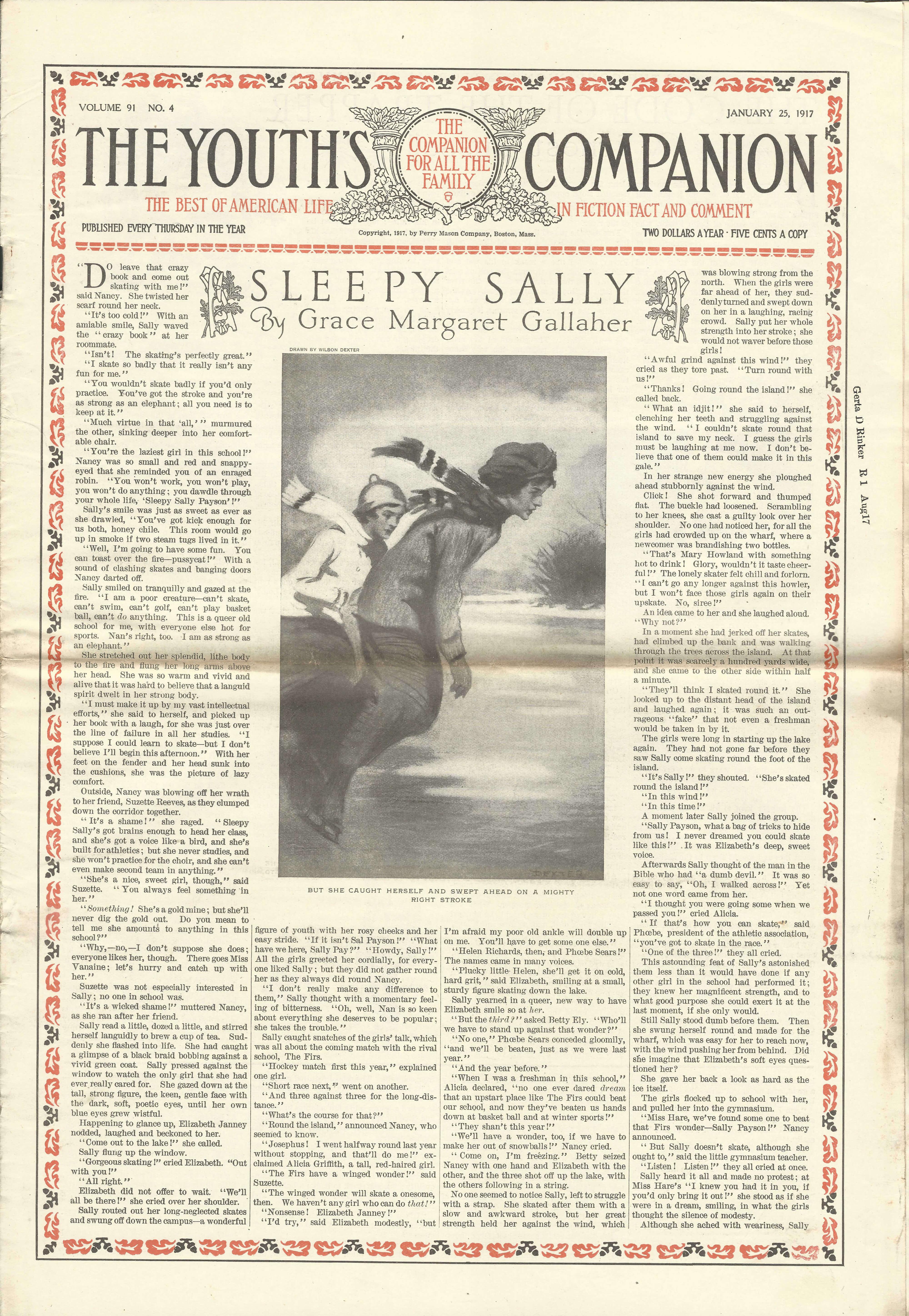 January 25 1917