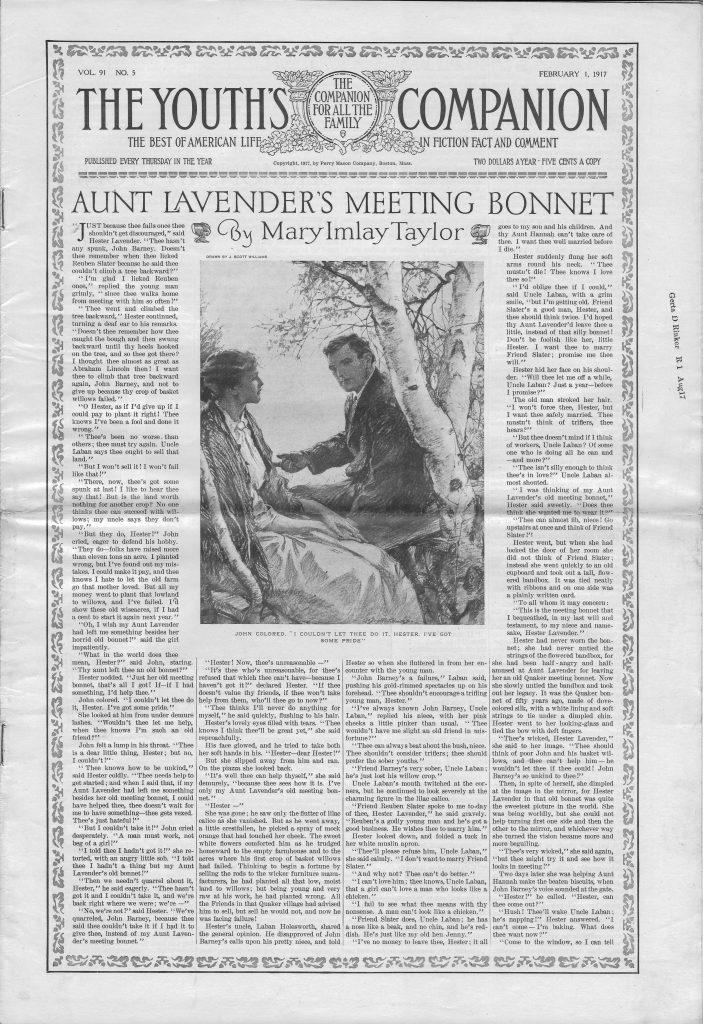 <em>The Youth's Companion</em> - February 1, 1917 - Page 57