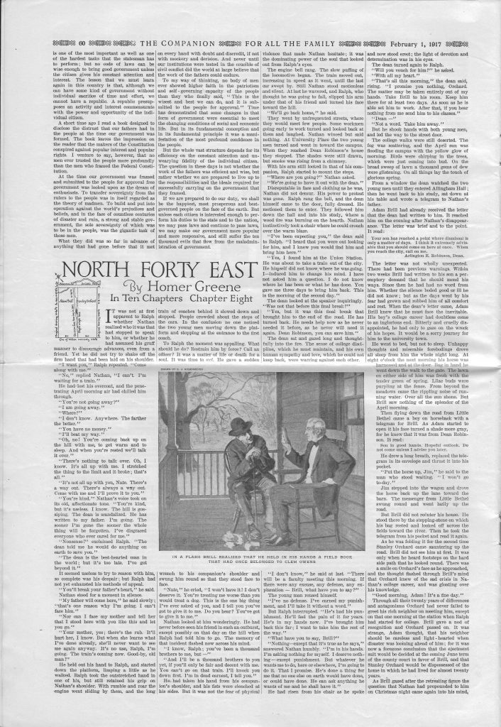 <em>The Youth's Companion</em> - February 1, 1917 - Page 60