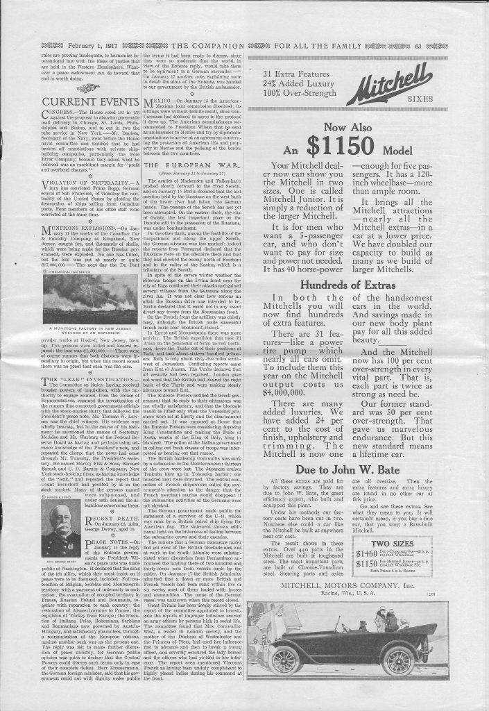 <em>The Youth's Companion</em> - February 1, 1917 - Page 63
