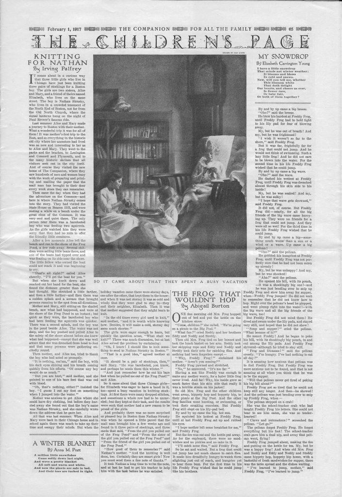 <em>The Youth's Companion</em> - February 1, 1917 - Page 65