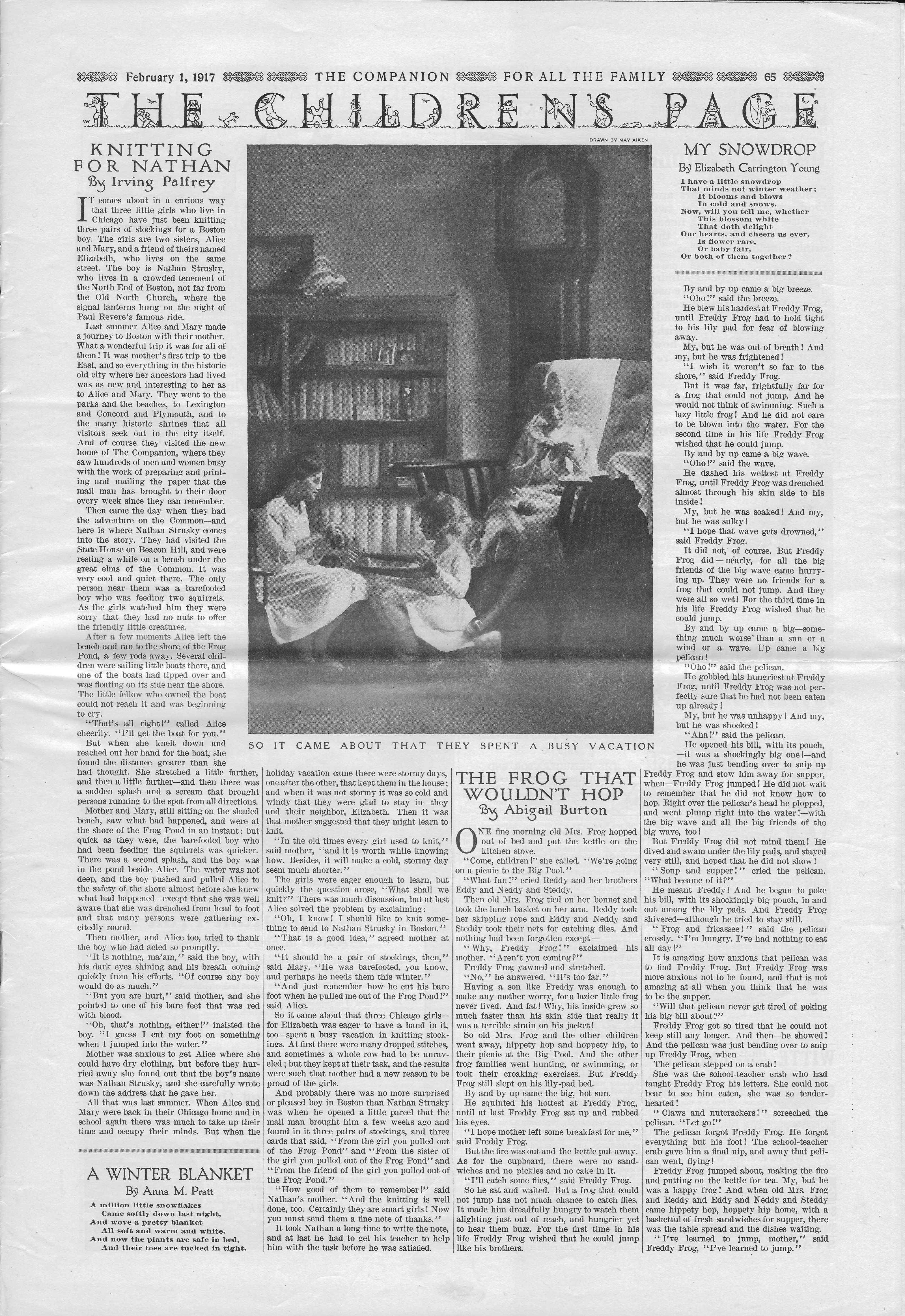 The Youth's Companion - February 1, 1917 - Page 65