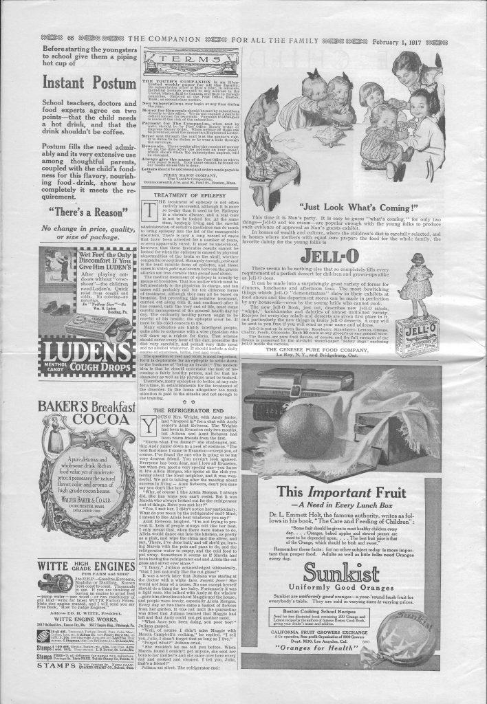 <em>The Youth's Companion</em> - February 1, 1917 - Page 66