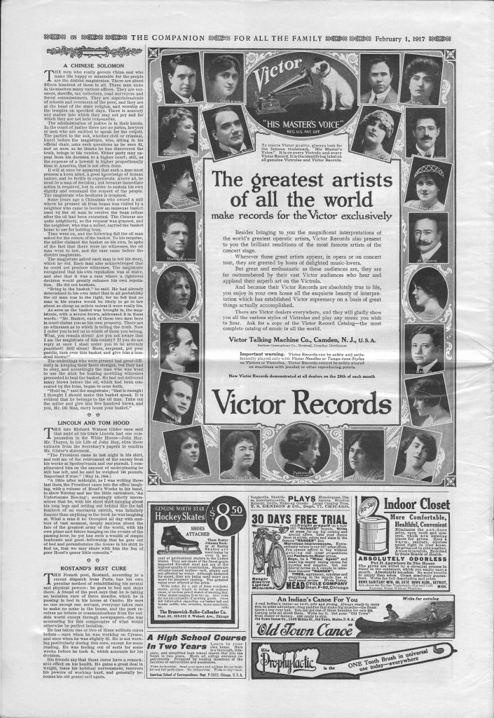 <em>The Youth's Companion</em> - February 1, 1917 - Page 68